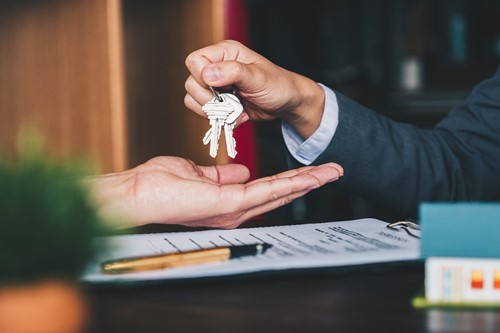 Handing Over Keys To Business